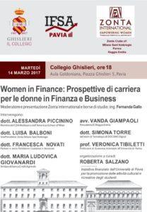 Women in Finance: Prospettive di carriera per le donne in Finanza e Business.