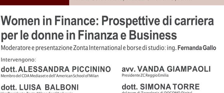 Women in Finance: Prospettive di carriera per le donne in Finanza e Business.