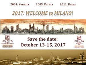 Milano ospiterà la Zonta District 28 Conference 2017