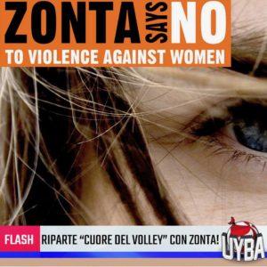 Campagna Zonta Says No 2018